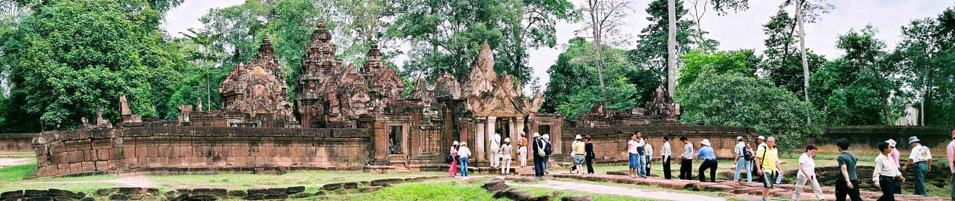 "Discover Magical Temple City of Angkor Wat <p><i>4 Days 3 Nights</i><br><i>Price from 170$</i></p><a class=""btn btn-danger rounded"" href=""http://www.tourismcambodia.com/tours/cambodia/angkor-temple-tours/49/discover-magical-temple-city-of-angkor-wat.htm"">VIEW DETAILS</a>"