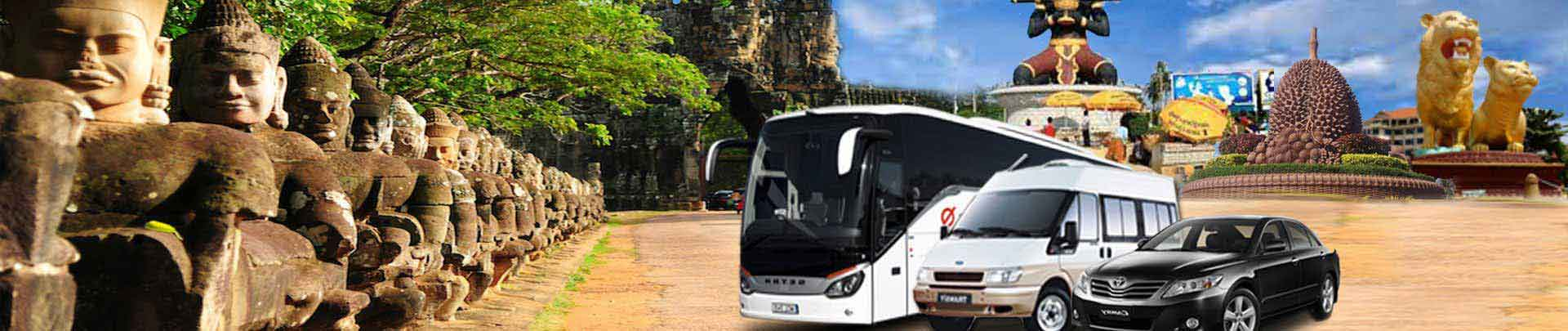 Book Bus Tickets in Cambodia