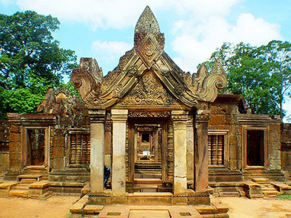 Discovery the untouched temple of Banteay Chhmar
