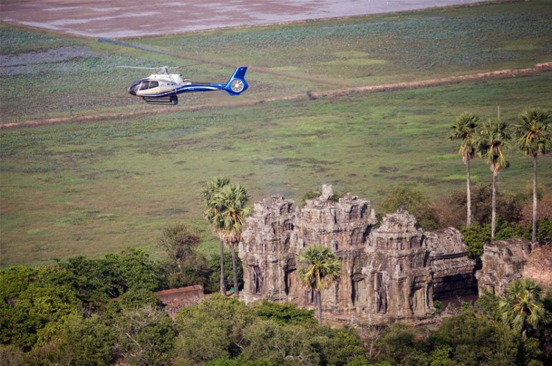 Angkor Helicopter Tour