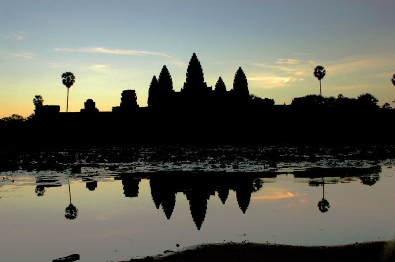 Angkor Wat sunrise view