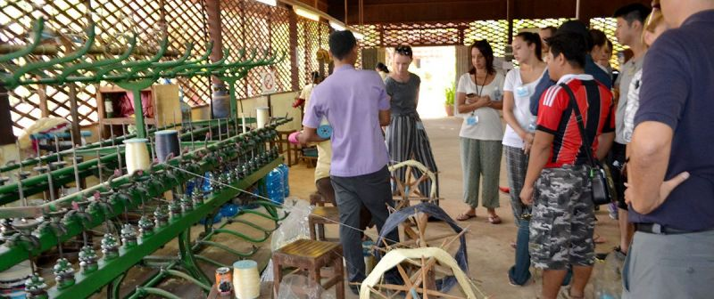 Khmer Traditional Silk Village Overland Full Day Tour