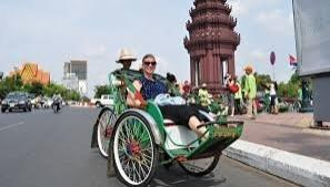 Phnom Penh Cyclo Tour - Full Day