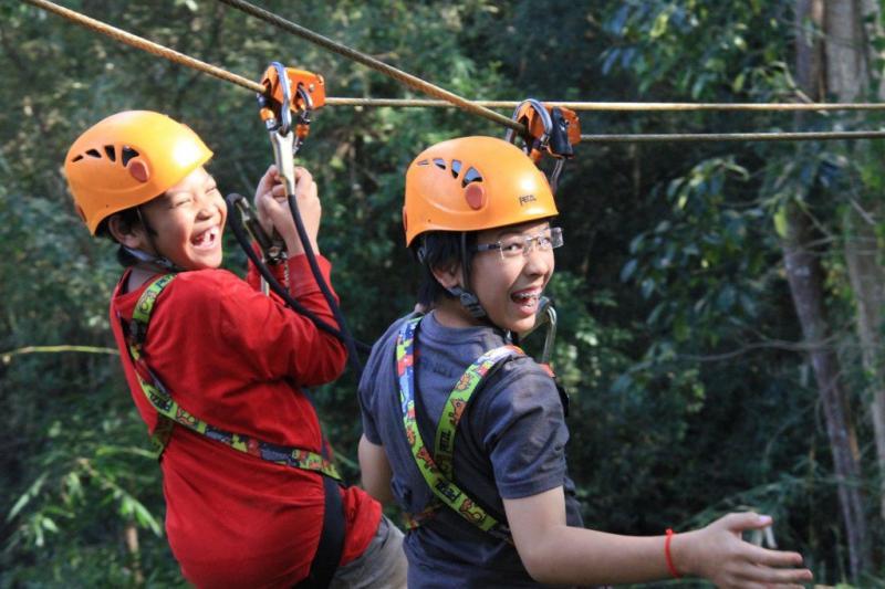 Zipline Eco-Adventure Inside Angkor Park