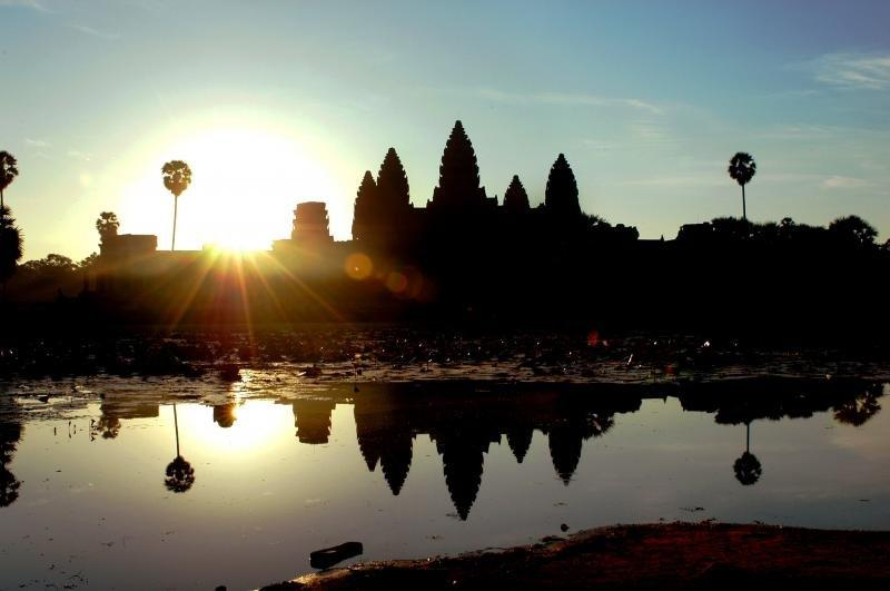 Angkor Wat sunrise view