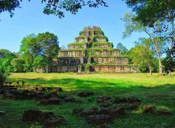 Visit Khmer Empire Capital Koh Ker
