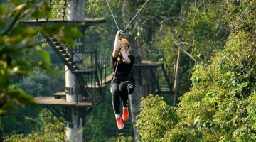 Zipline Eco-Adventure Inside Angkor Park